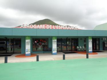 L'aéroport de Grand Case sélectionné par La Collectivité