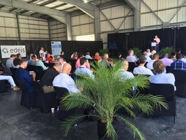 Caribbean Aviation Meet-up sur l'aéroport de Grand Case