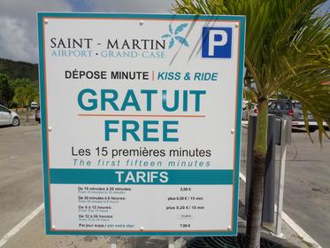 Parking public de l'aéroport, nouveaux tarifs